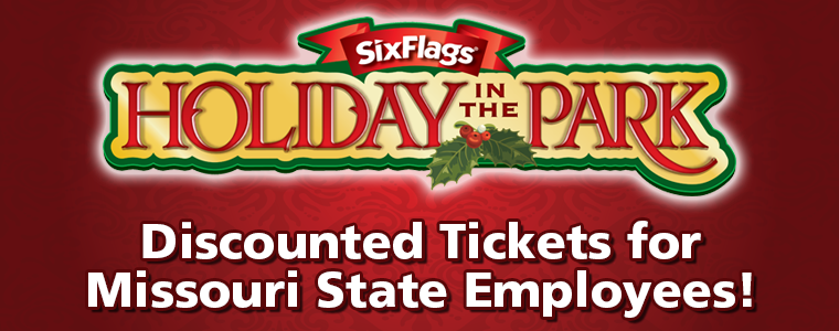 Six Flags Holiday in the Park - Discounted Tickets for Missouri State Employees